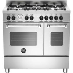 Bertazzoni MAS90-5-MFE-D-XE Master 90cm Dual Fuel Range Cooker With 5 Burners And 2 Ovens Stainless