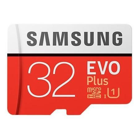 Samsung EVO Plus 32GB MicroSDXC With Adapter
