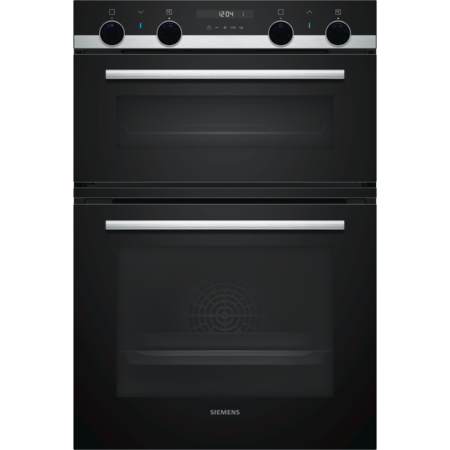 Siemens MB557G5S0B iQ500 Multifunction Electric Built In Double Oven - Stainless Steel