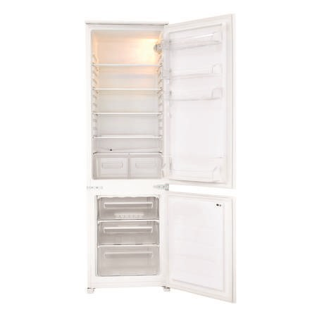 Fridgemaster MBC55275 54cm Wide 70-30 Integrated Upright Fridge Freezer - White