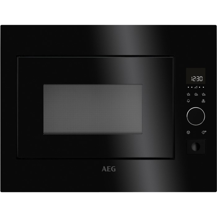 Aeg Mbe2658s B Fully Built In Under 26l Standard Microwave