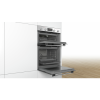 Bosch MBS133BR0B Serie 2 Multifunction Electric Built In Double Oven - Stainless Steel