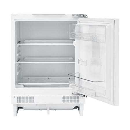 Fridgemaster MBUL60133M 133L Undercounter Integrated Larder Fridge - White Finish