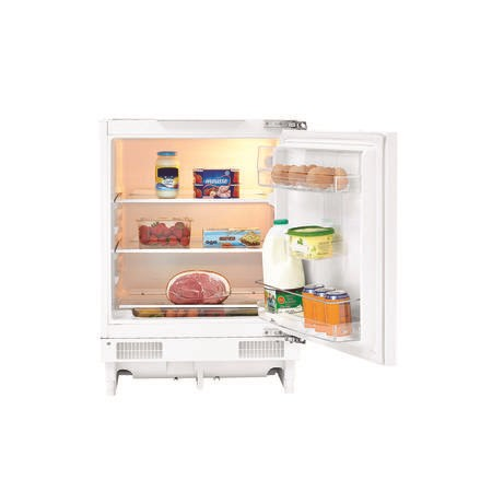 Fridgemaster MBUL60133 59cm Wide Integrated Under Counter Fridge - White