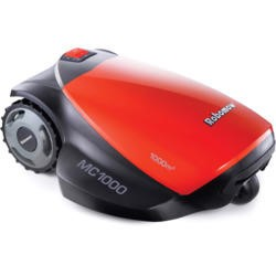Robomow PRD6100Y1 Robotic Lawn Mower For Lawns Up to 1000 Square Metres Black And Red
