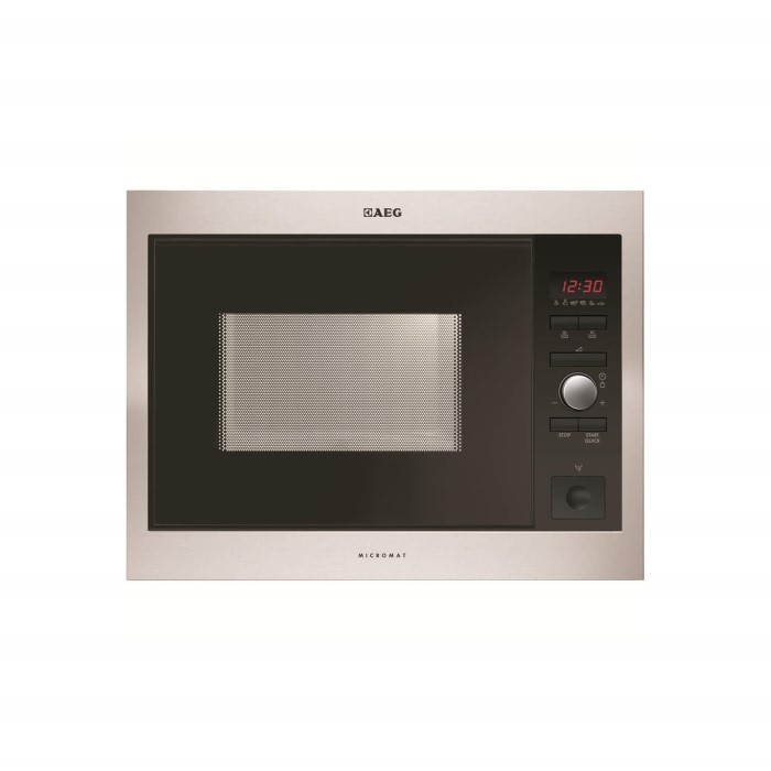 aeg mc1753e m high performance 17l built in standard microwave appliances direct. Black Bedroom Furniture Sets. Home Design Ideas