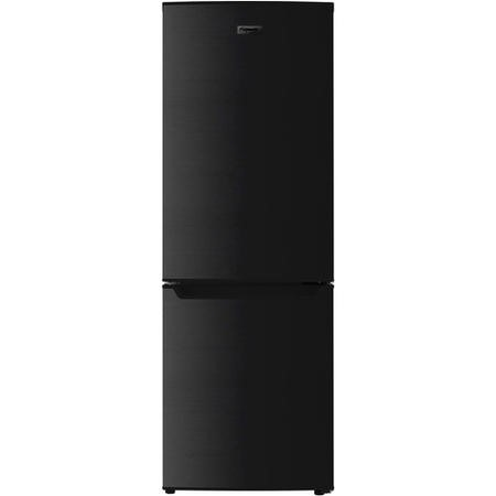 Fridgemaster MC50165B 60/40 Split 112L Freestanding Fridge Freezer - Black