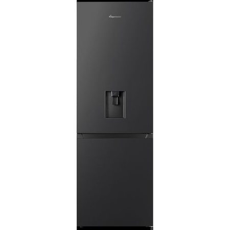 Fridgemaster MC60287DB 70/30 Freestanding Fridge Freezer With Non-plumb Water Dispenser - Black