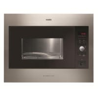 AEG MCD2664E-M 26 L Built-in Microwave Oven with Grill