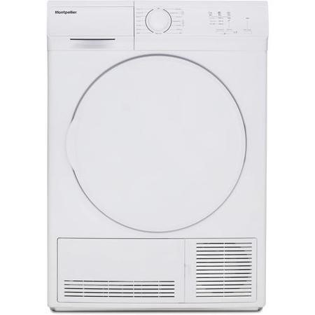 Montpellier MCD7W 7kg Freestanding Condenser Tumble Dryer - White