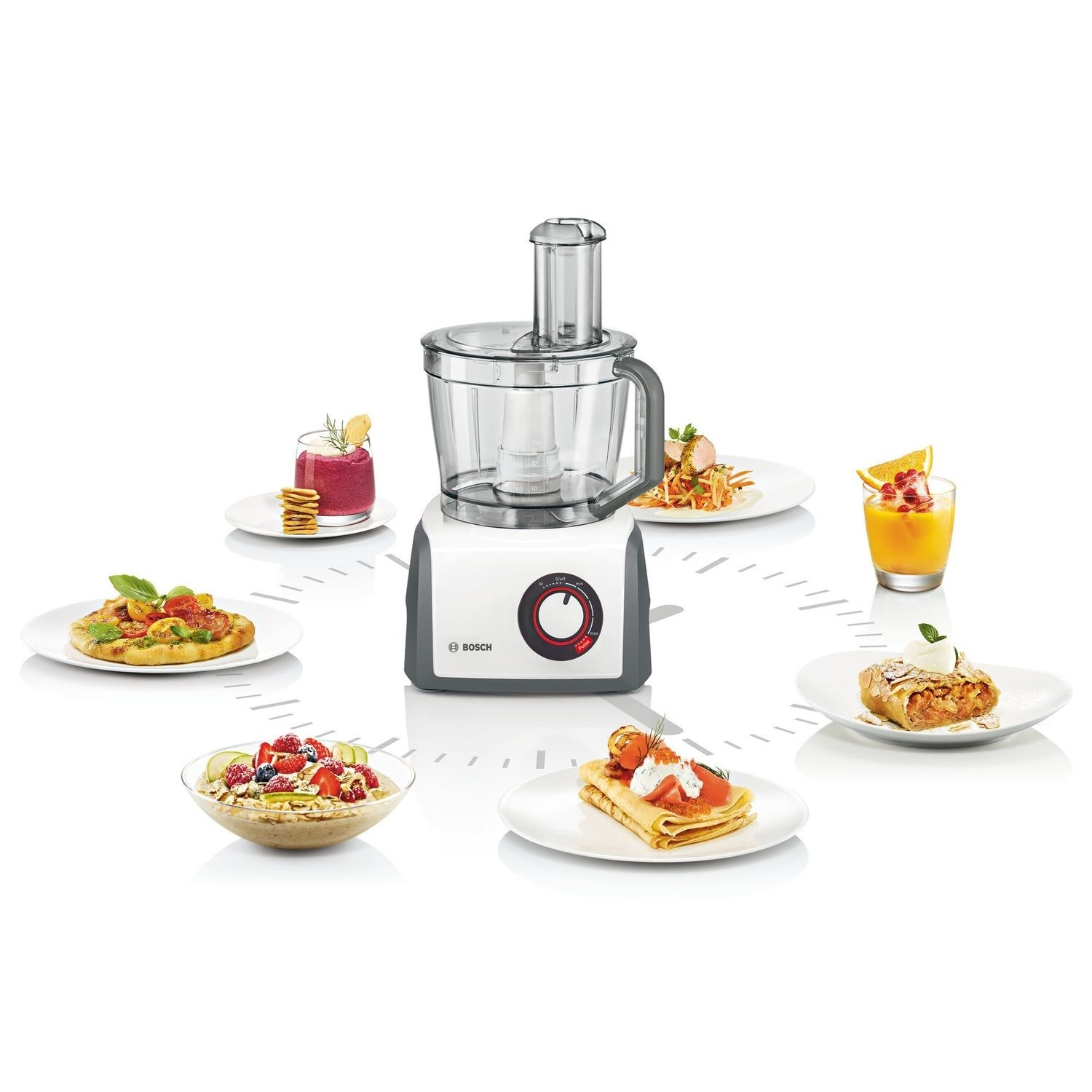 Bosch Mcm62020gb 3 9l Food Processor With Blender And