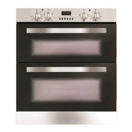 GRADE A2  - Matrix CDA MD720SS Programmable Electric Built-under Double Oven - Stainless Steel