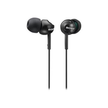 Sony In-ear Headphones EX Series. Black