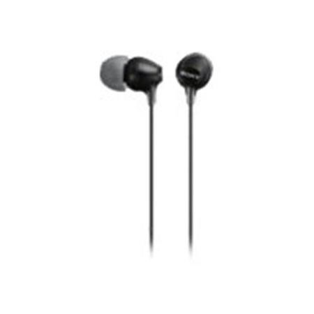 Sony In Ear earphone with silicon earbuds - Black