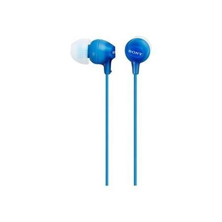 Sony In Ear earphone with silicon earbuds - Blue