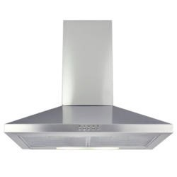GRADE A1 - Matrix MEH601SS Standard 60cm Chimney Cooker Hood Stainless Steel