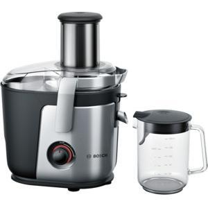 Bosch MES4000GB Brushed Steel Whole Fruit Juice Extractor With XL Feed Tube