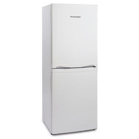 Montpellier MFF152W 55x152cm Frost Free 50-50 Freestanding Fridge Freezer White