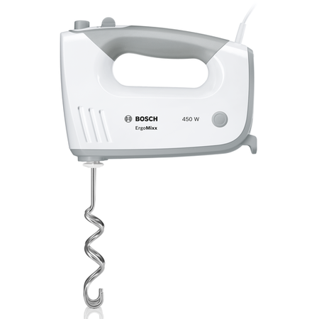 Bosch MFQ36450GB 450W 5-speed Hand Mixer White And Grey