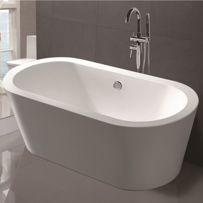 Princess Modern Freestanding Bath - 1780 x 800 x 580mm MFSB03 ...