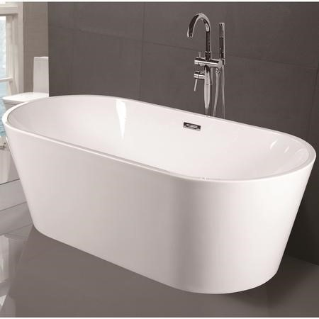 Duchess Modern Round Freestanding Bath - 1700 x 800 x 580mm