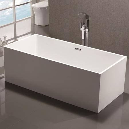 Baron Modern Square Freestanding Bath - 1700 x 780 x 580mm