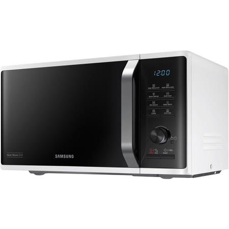 Samsung MG23K3575AW 23L Freestanding Microwave with HeatWave Grill - White