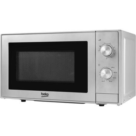 Beko MGC20100S 700W 20L Freestanding Microwave Oven With Grill - Silver