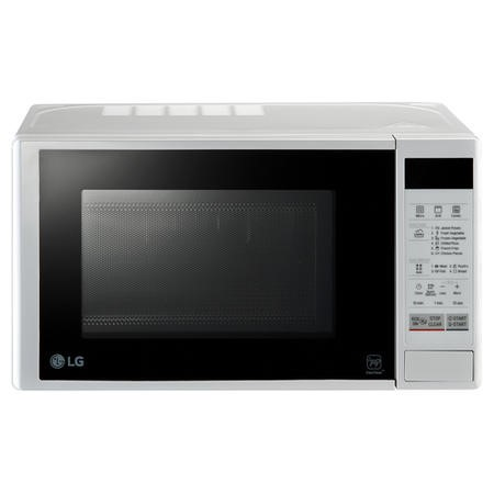 LG MH6042DW 20L 700W Freestanding Microwave Oven With Grill White