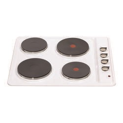 Matrix MHE001WH 60cm Solid Plate Electric Hob in White