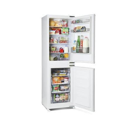 Montpellier MIFF5050F 54cm Wide Frost Free 50-50 Integrated Upright Fridge Freezer - White