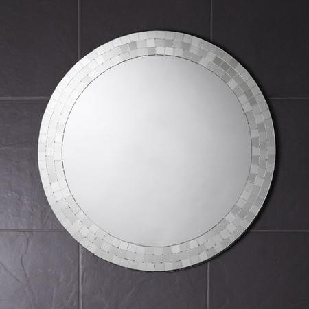 Croydex Meadley Hang N Lock Bathroom Mirror - 600 x 600mm