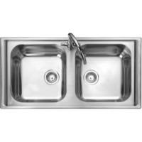 Rangemaster MN10105 Manhattan 1010x515 2.0 Bowl Stainless Steel Sink