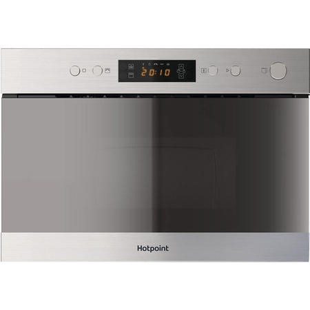 HOTPOINT MN314IXH 22L Built-in Microwave with Grill Stainless Steel