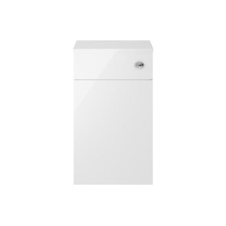 Premier White Back to Wall WC Toilet Unit - W500 x H853mm