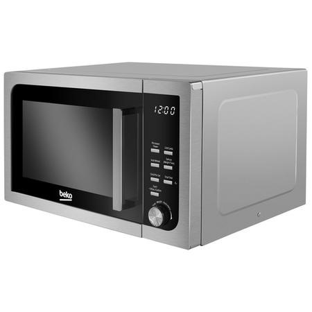 Beko MOF23110X 800W 23L Freestanding Microwave Oven - Stainless Steel