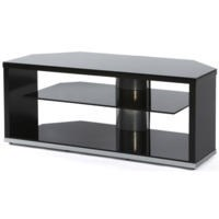 Off The Wall Mono 1000 Black TV Cabinet - Up to 55 Inch
