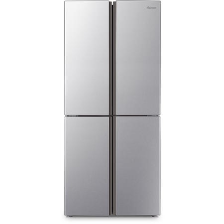 Fridgemaster MQ79394FFS Frost Free Four Door American Fridge Freezer - Silver