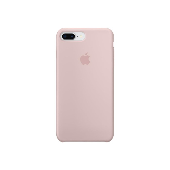 classic fit f52ca 5d381 Apple iPhone 7 Plus/iPhone 8 Plus Silicone Case - Pink Sand