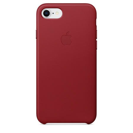 Apple iPhone 7/8 Leather Case - PRODUCT RED