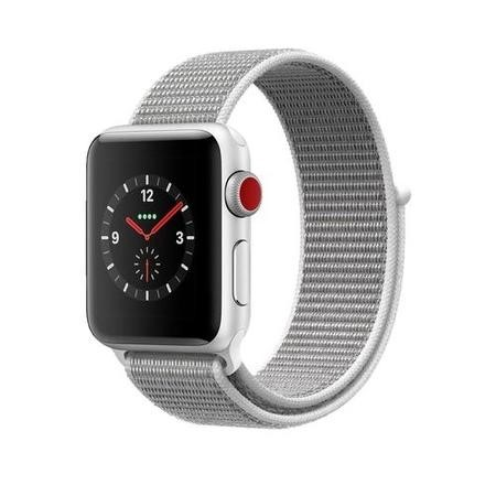 Image result for Apple Watch Series 4 GPS+Cellulare 40mm Silver Aluminium Case with Seashell Sport Loop