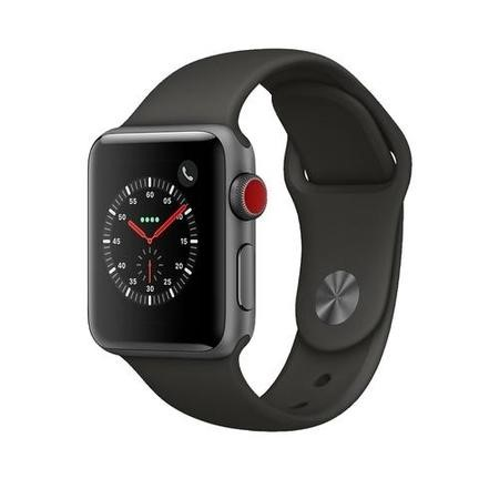 Apple Watch Sport Series 3 GPS + Cellular 38mm Space Grey Aluminium Case with Grey Sport Band