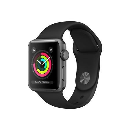 Apple Watch Sport Series 3 GPS 38mm Space Grey Aluminium Case with Grey Sport Band