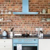 Montpellier MR95DFPB 90cm Twin Cavity Dual Fuel Range Cooker - Pastel Blue