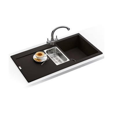 Franke MRG651OXDP Maris 1.5 Bowl Ganite Sink and Tap Designer Pack