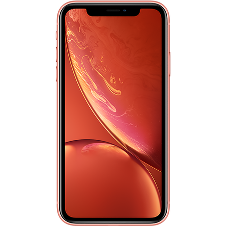 "Grade A1 Apple iPhone XR Coral 6.1"" 64GB 4G Unlocked & SIM Free"