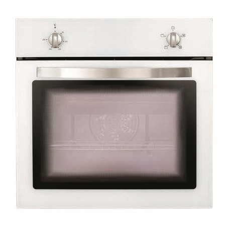 Matrix MS001WH Fanned Electric Built In Single Oven - White