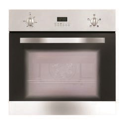 Matrix MS002SS Fanned Electric Built In Single Oven with Programmer - Stainless Steel
