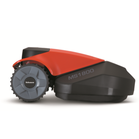 Robomow PRD6200Y1 Robotic Lawn Mower For Lawns Up to 1800 Square Metres Black And Red