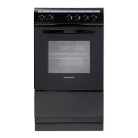 Montpellier MSE50K 50cm Single Cavity Electric Cooker - Black